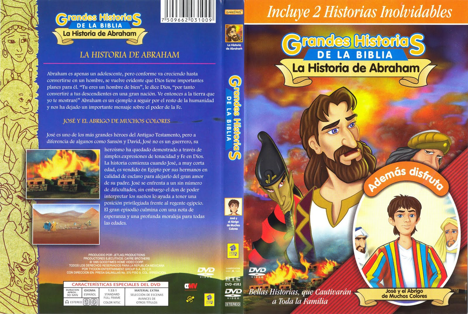 Grandes historias de la biblia la historia de abraham jpg